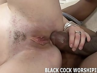 These two big black cock are going to violate all my holes