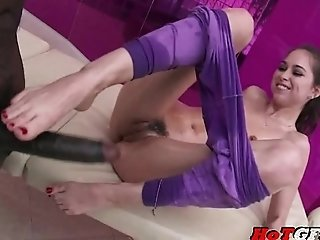 Riley Reid - Slut's Big Black Cock Massage
