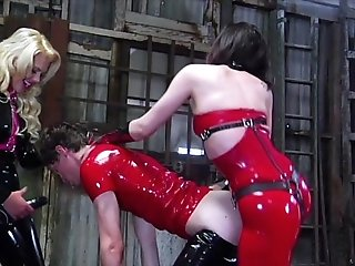 Used and Abused Rubber Cock Whore