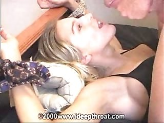 Ideepthroat - Heather Brooke Tied to Bedposts(KENCINEMAS)
